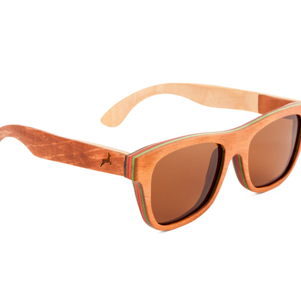 Holzkitz Holzbrille Sonnenbrille Holz Dachstein2 Side