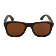 Holzkitz Holzbrille Sonnenbrille Holz Zuckerhuetl Front
